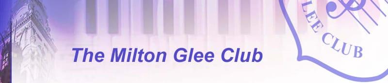 The Milton Glee Club