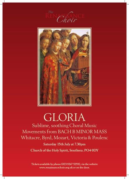 """Gloria"" - The Renaissance Choir"