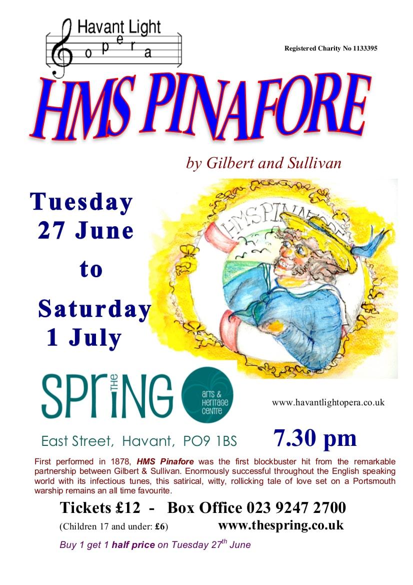 HMS Pinafore - Havant Light Opera