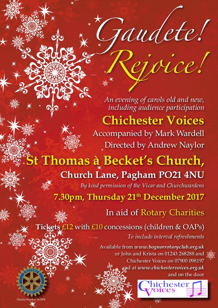 Gaudete! Rejoice! - Chichester Voices