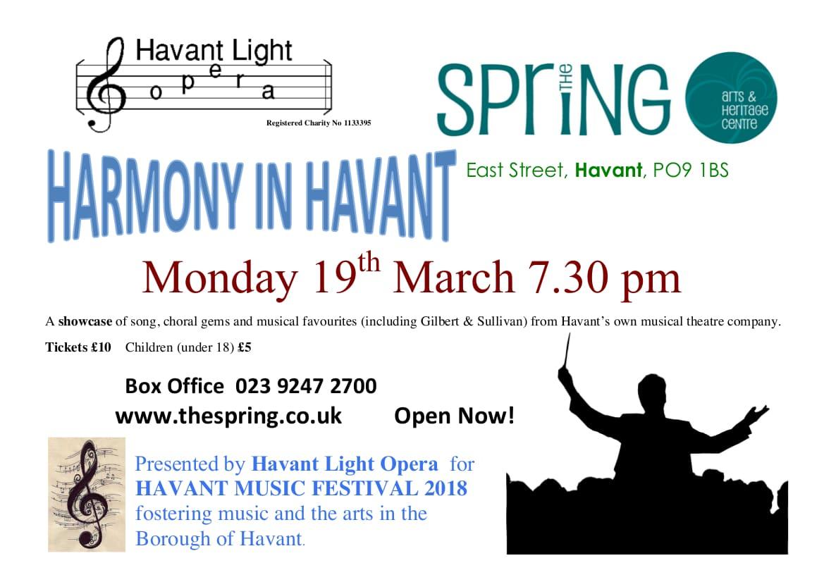 Harmony in Havant - Havant Light Opera