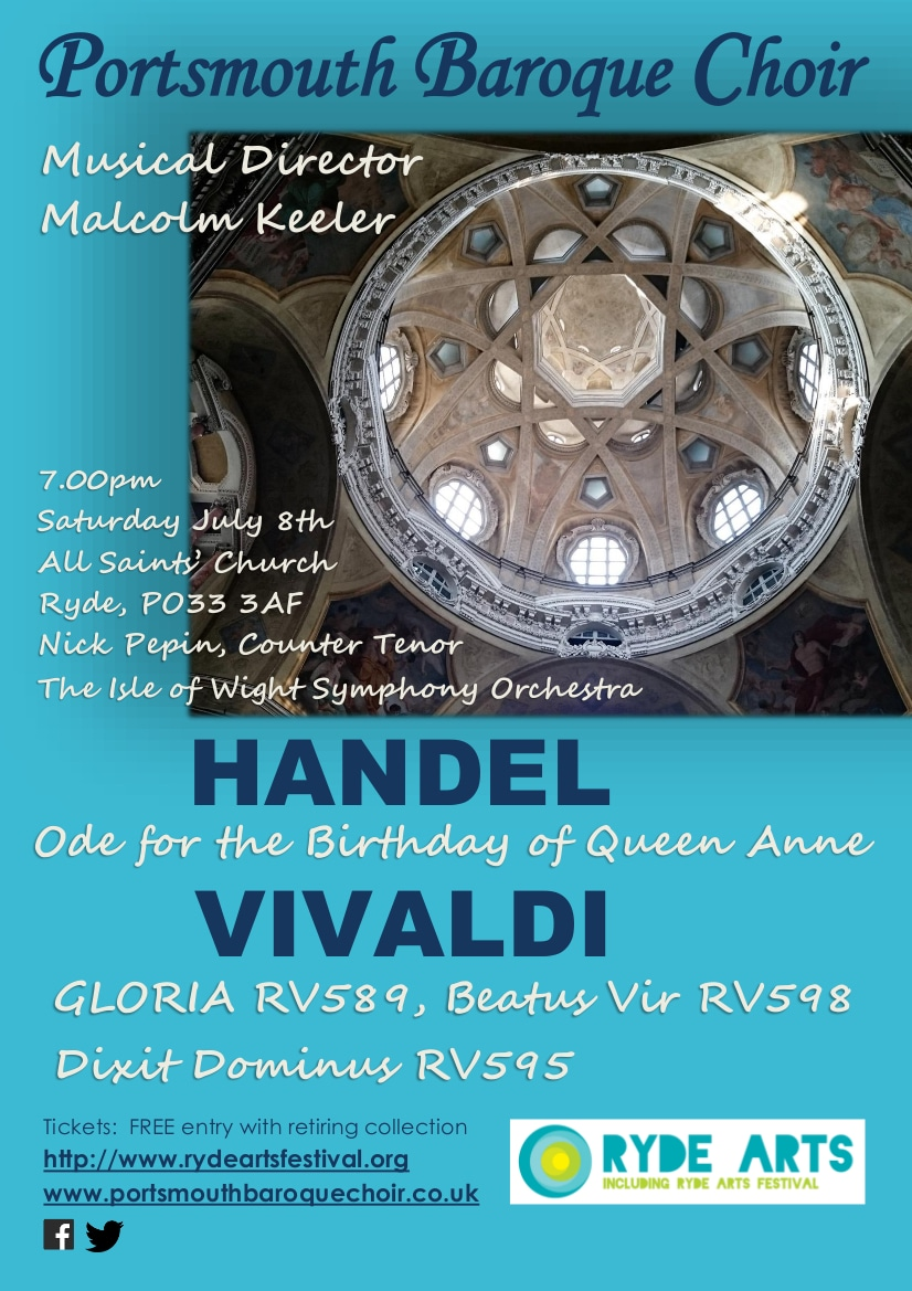 Vivaldi's Gloria and other music - Portsmouth Baroque Choir