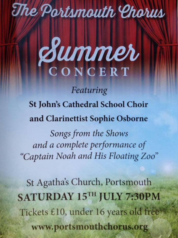 Summer concert – with St John's Cathedral Children's Choir - The Portsmouth Chorus