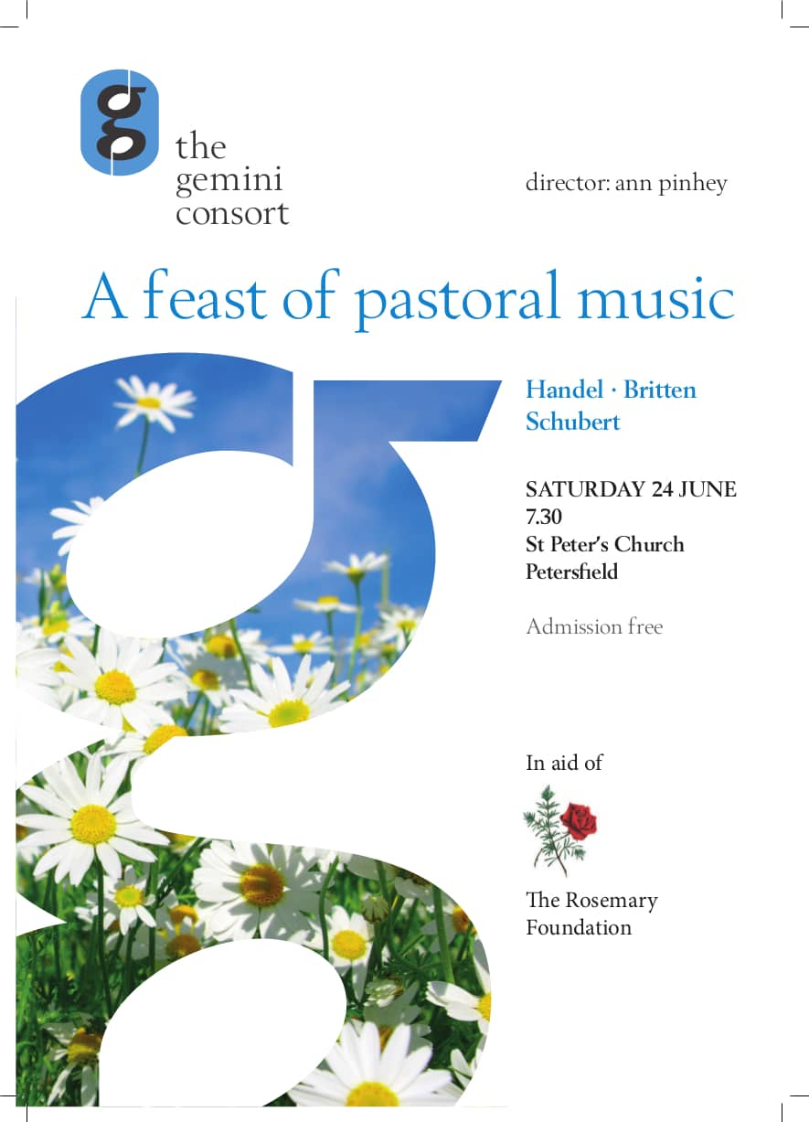 A feast of pastoral music - the gemini consort