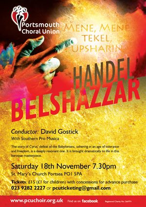 Belshazzar's Feast - The Portsmouth Choral Union