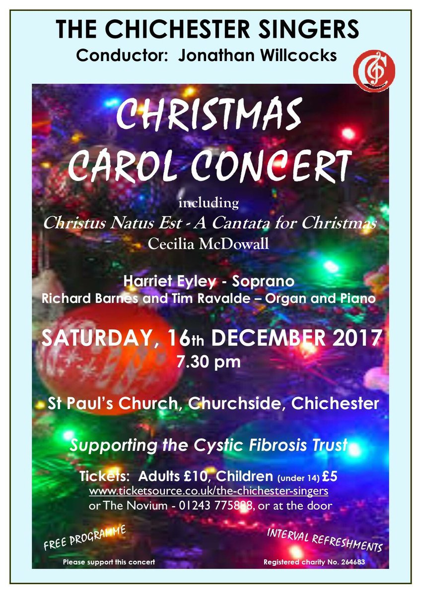 Christmas Carol Concert - The Chichester Singers