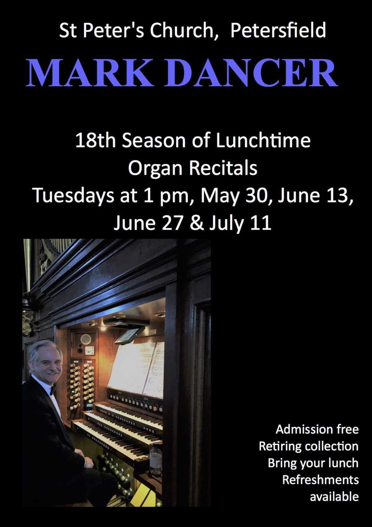 Mark Dancer – Organ recital - St Peter's Church Petersfield Music Events