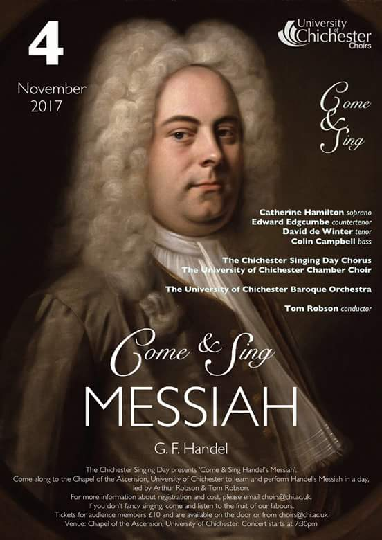 Chichester Chorale: Come and Sing Messiah - Chichester Chorale