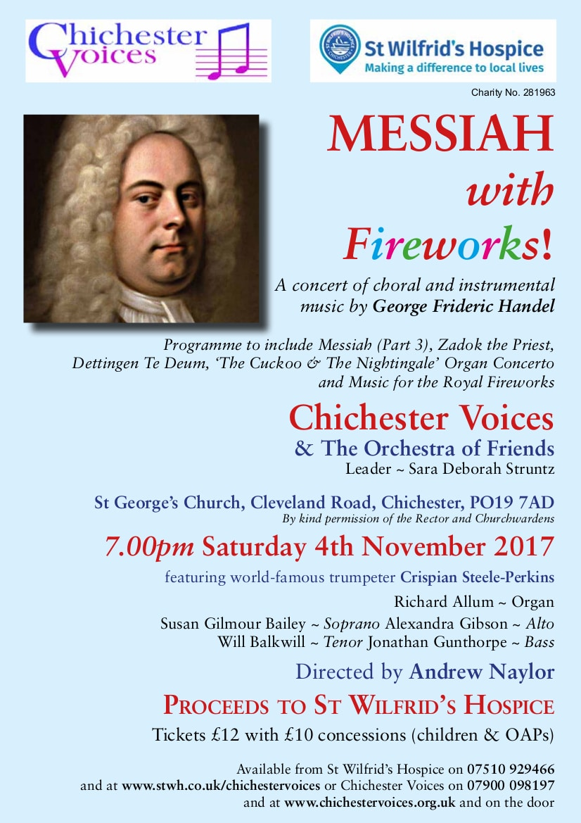 Messiah with Fireworks - Chichester Voices