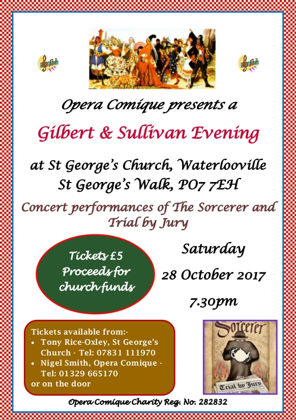Gilbert and Sullivan Evening - Opera Comique