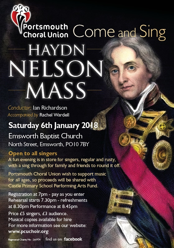 Come and Sing – Haydn Nelson Mass - The Portsmouth Choral Union
