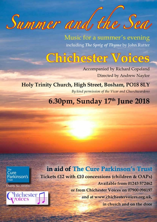 """Chichester Voices Summer Concert: """"Summer & the Sea"""" - Chichester Voices"""