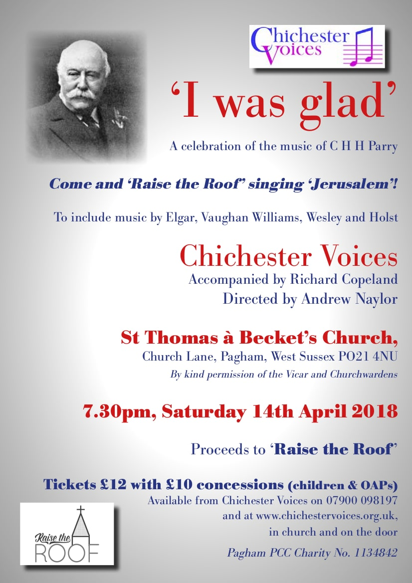 "Chichester Voices – ""I was glad"" - Chichester Voices"