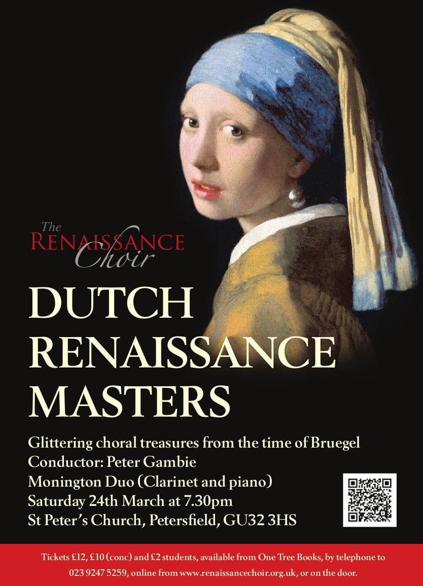 Dutch Renaissance Masters – glittering choral treasures from the time of Breughel - The Renaissance Choir
