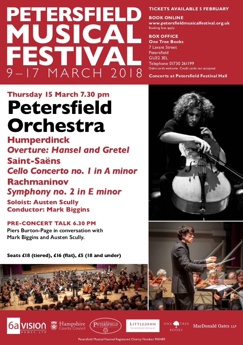The Petersfield Orchestra at The Petersfield Festival - Petersfield Orchestra