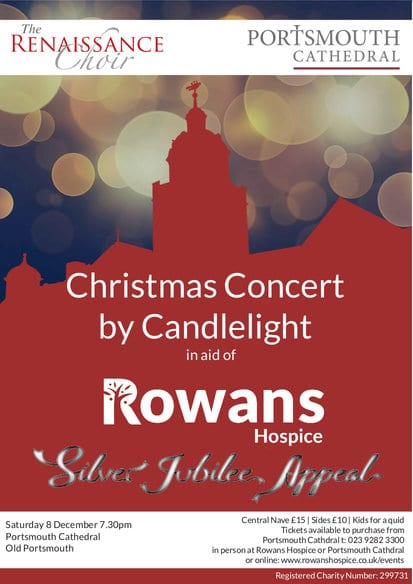 Christmas Concert by candlelight for Rowans Hospice - The Renaissance Choir