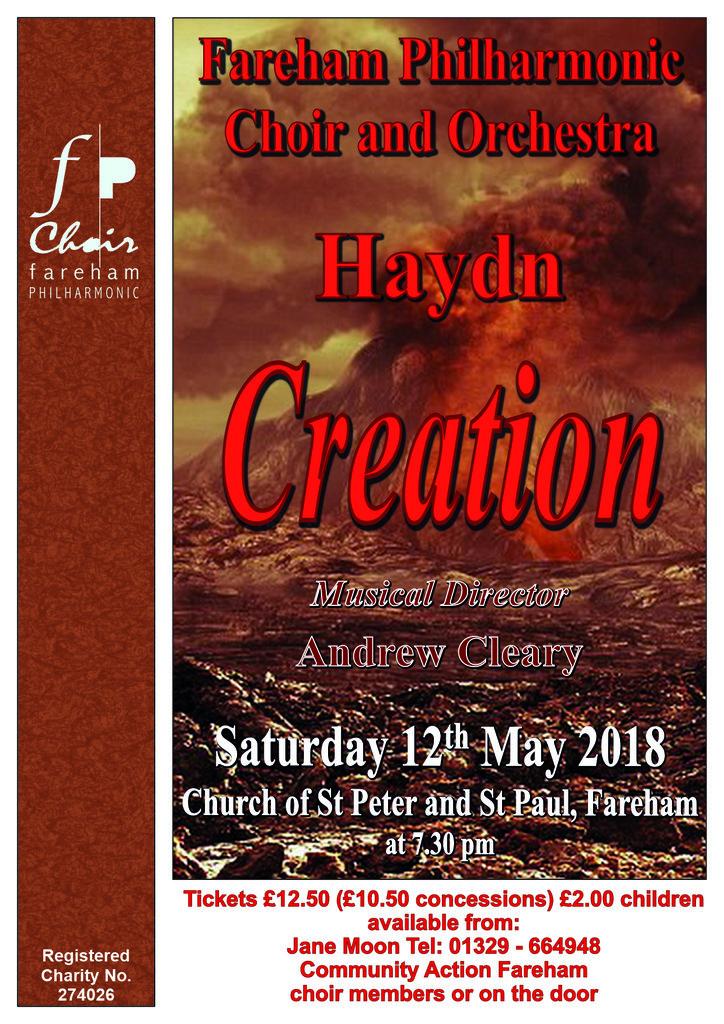 Haydn: The Creation - Fareham Philharmonic Choir