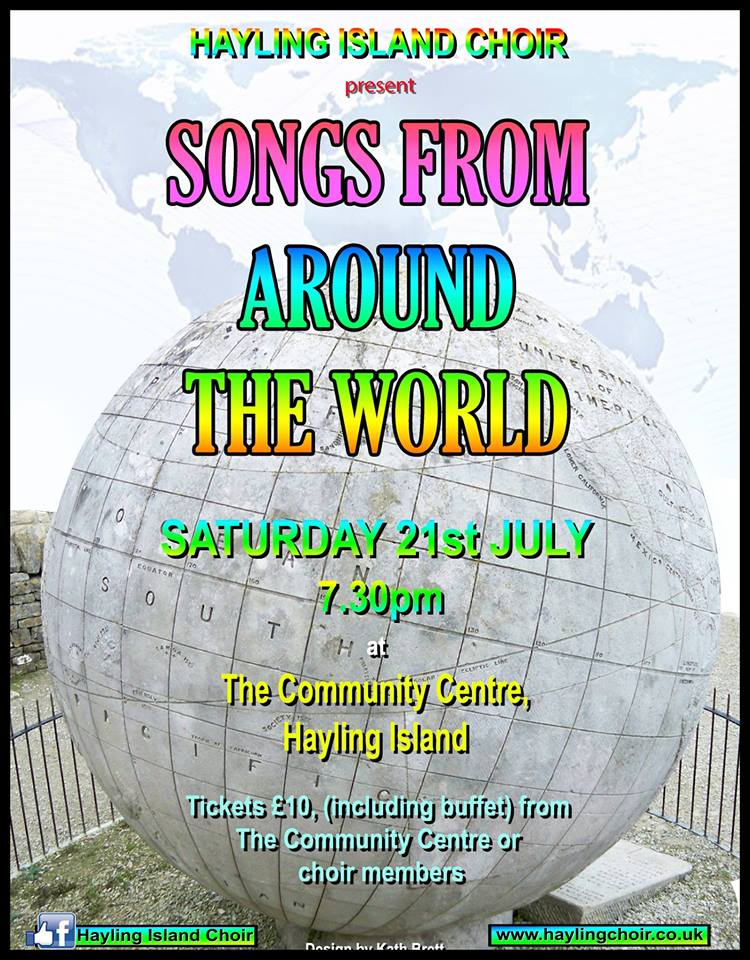 Summer Soirée – Songs from around the world - Hayling Island Choir