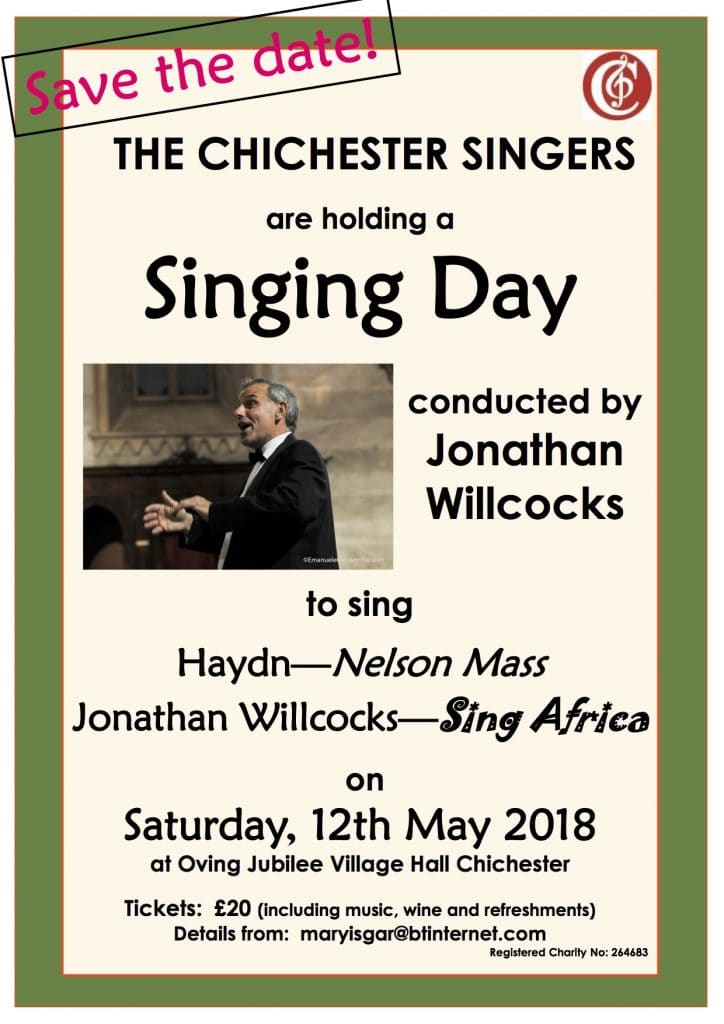 The Chichester Singers Singing Day: Haydn & Willcocks - The Chichester Singers