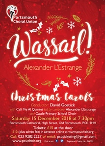 """Wassail!"" with Castle Primary School - The Portsmouth Choral Union"