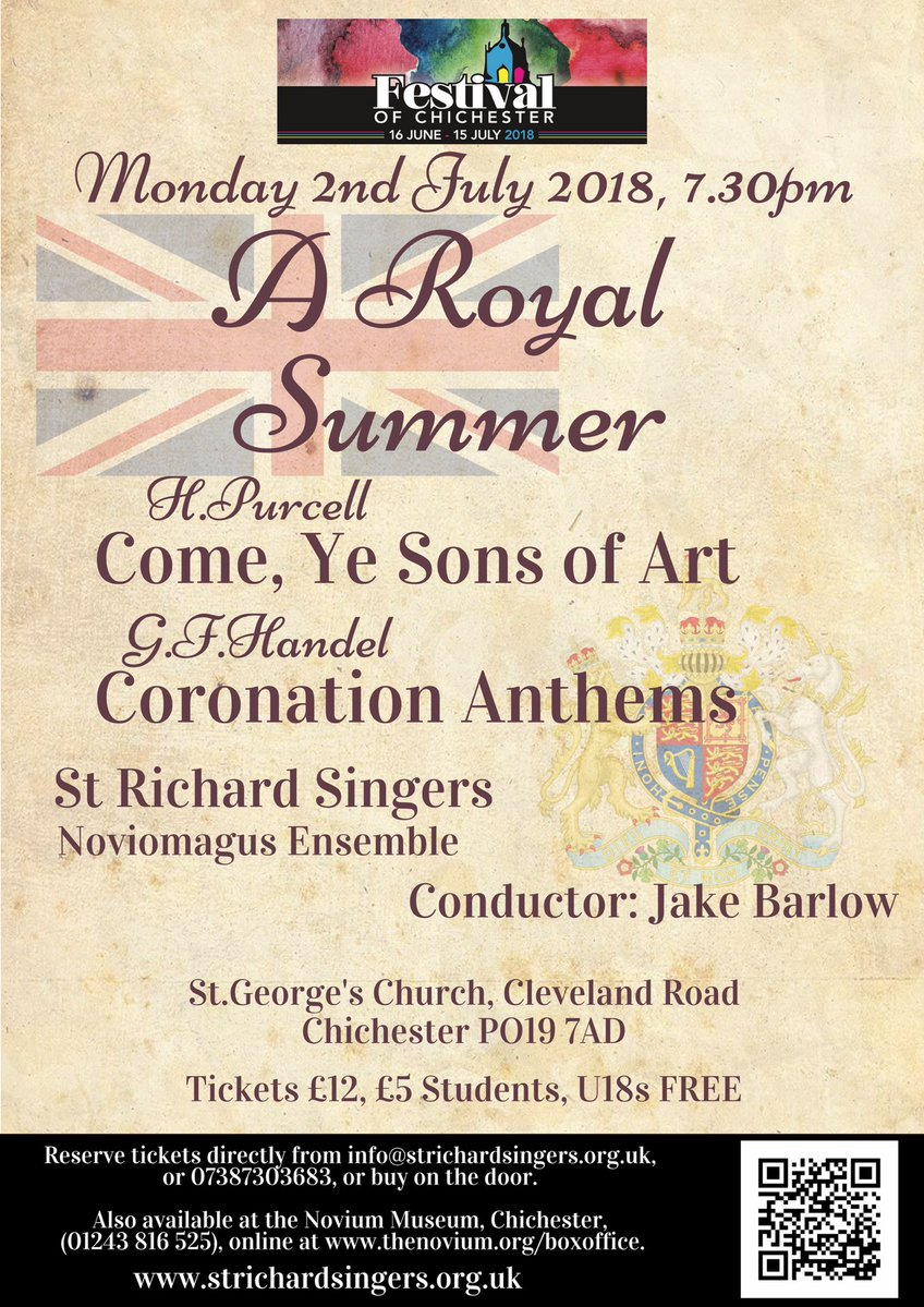 St Richard Singers sing Purcell and Handel - St Richard Singers