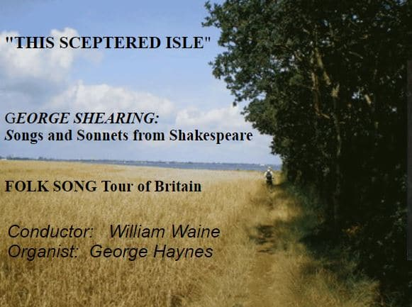 """Cantemus – """"This sceptred isle"""" - Cantemus"""