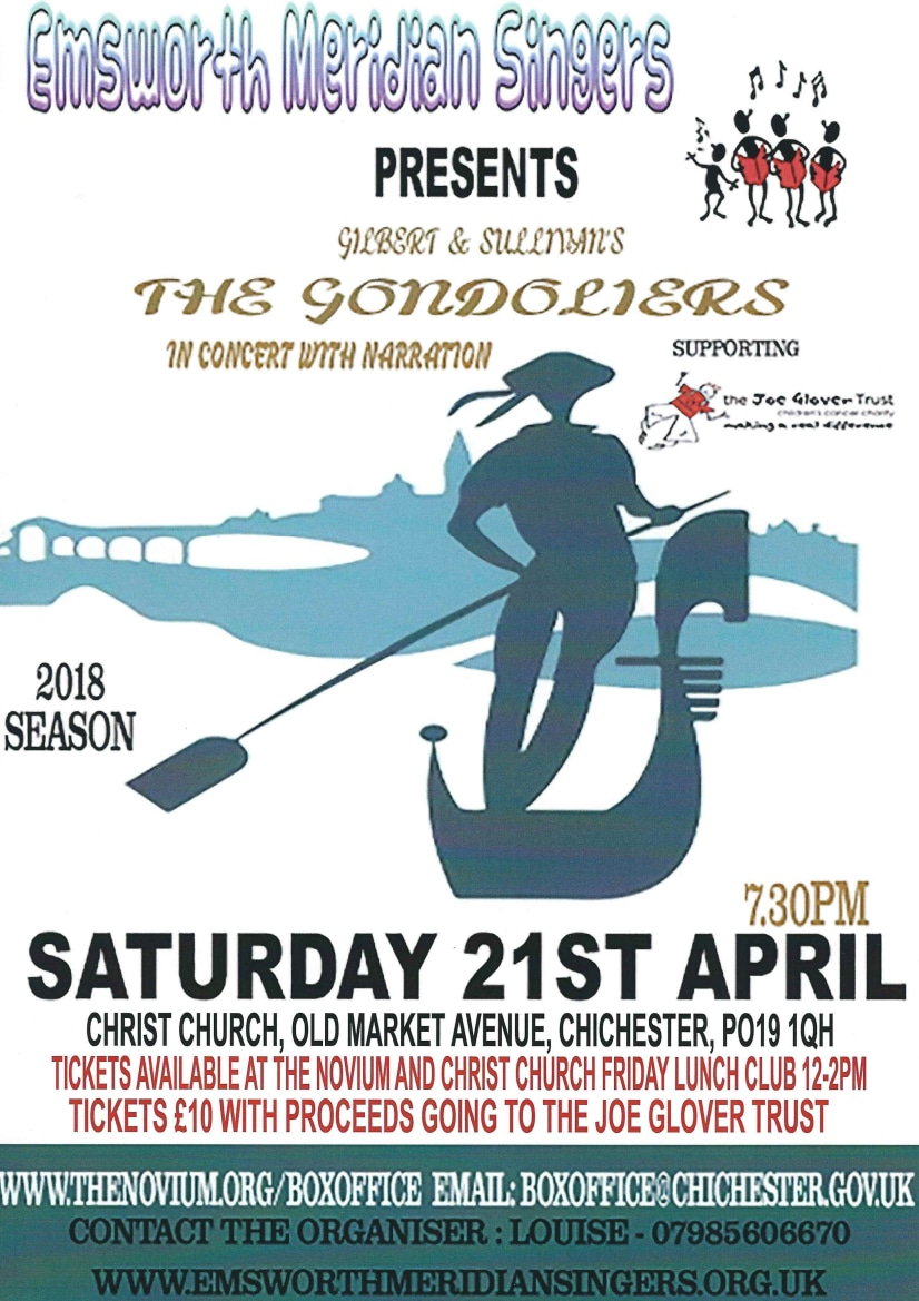 The Gondoliers by Emsworth Meridian Singers - XX Miscellaneous Performers XX