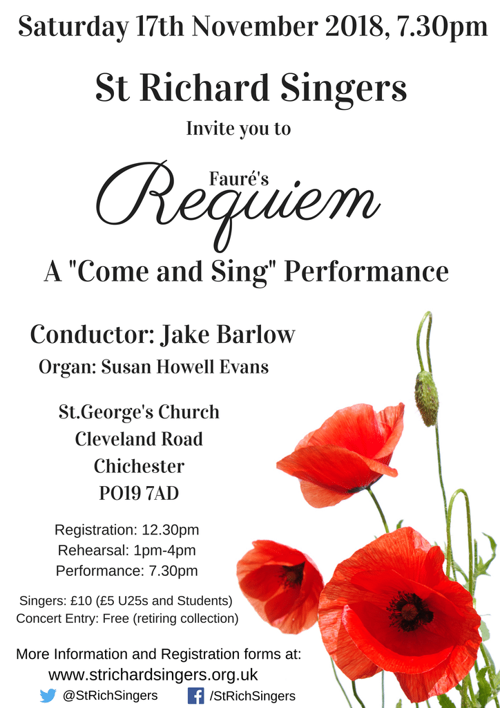 Come and Sing Fauré's Requiem - St Richard Singers