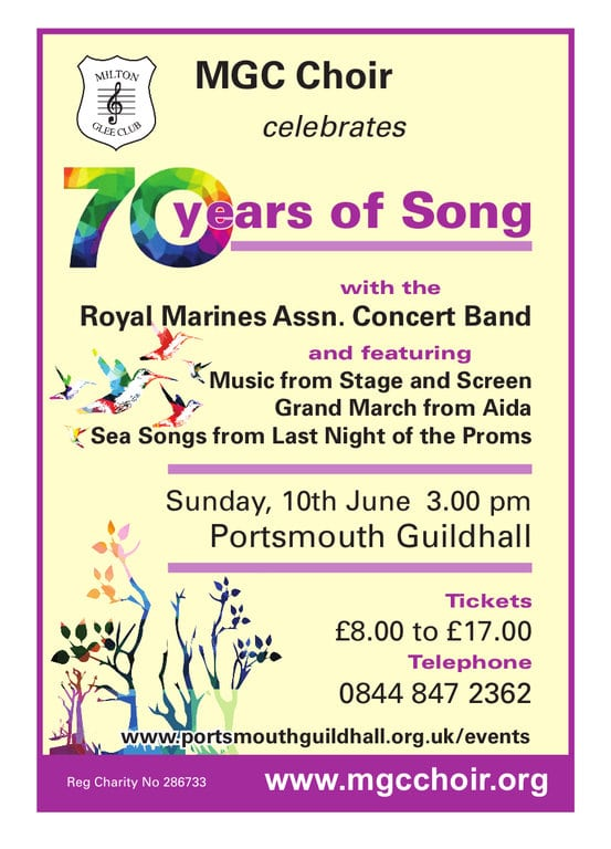 70 Years of Song - The Milton Glee Club