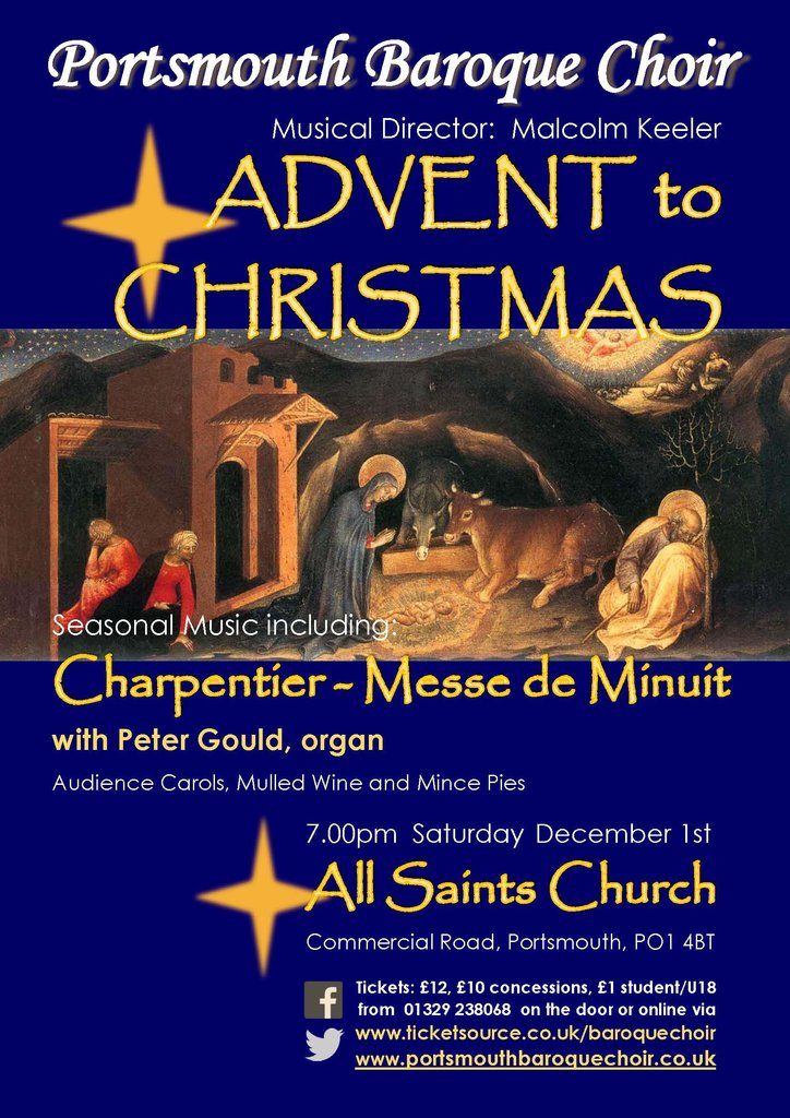 Charpentier: Messe de minuit - Portsmouth Baroque Choir