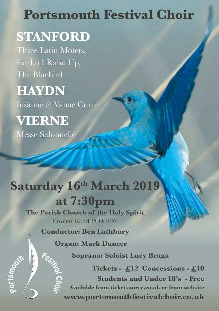 Portsmouth Festival Choir: Vierne & Stanford - Portsmouth Festival Choir