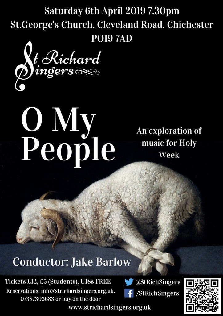 """O My People"" concert by St Richard Singers - St Richard Singers"