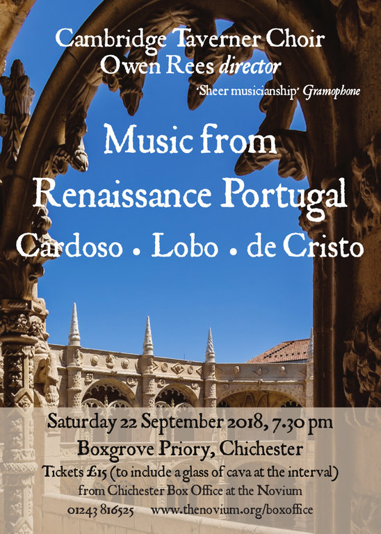 Cambridge Taverner Choir: Music from Renaissance Portugal - XX Miscellaneous Performers XX