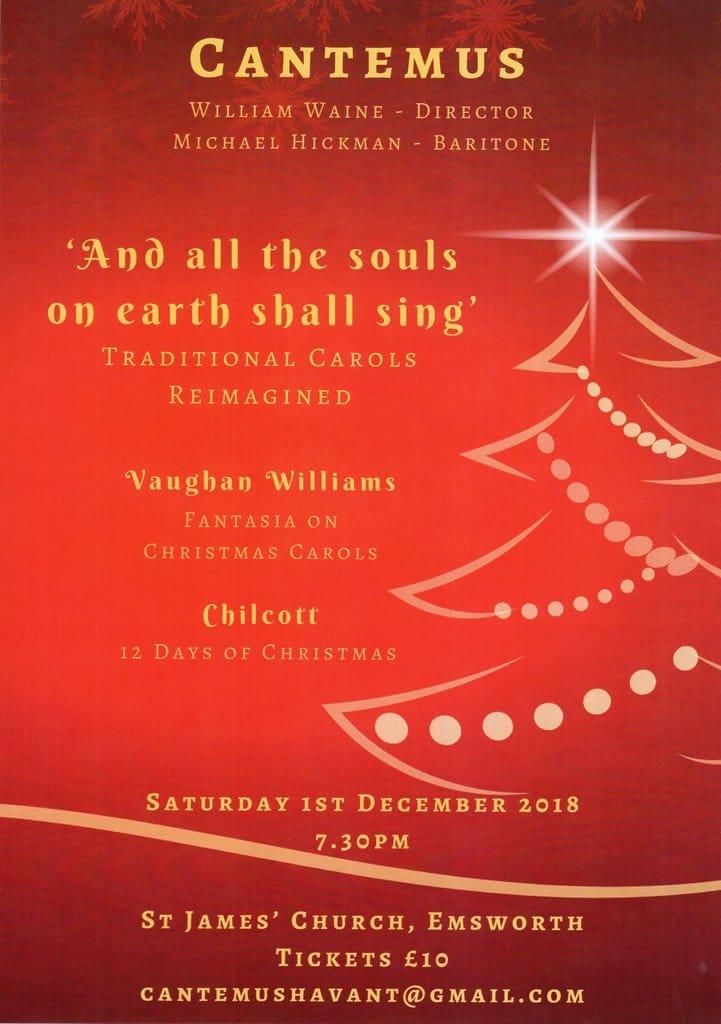 Vaughan Williams –  Fantasia on Christmas Carols - Cantemus