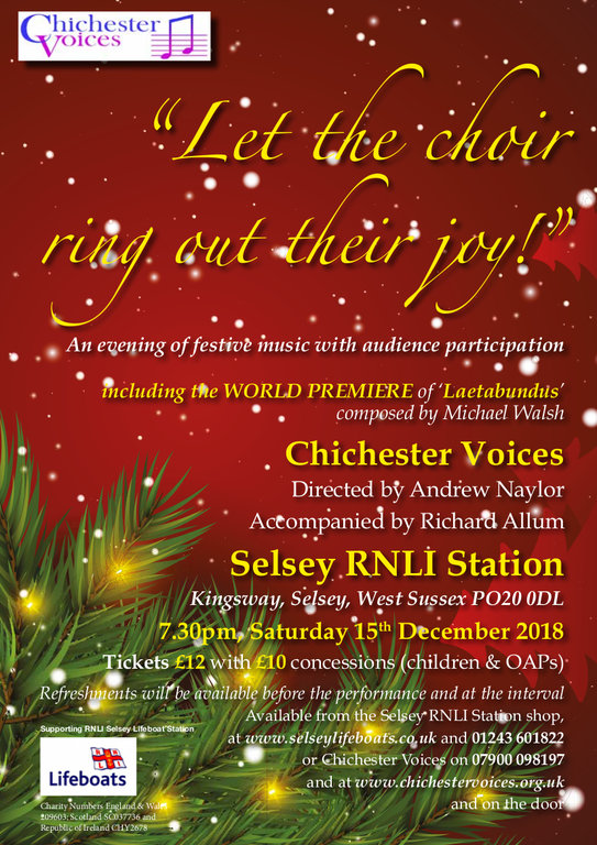 'A Feast of Christmas Music' - Chichester Voices