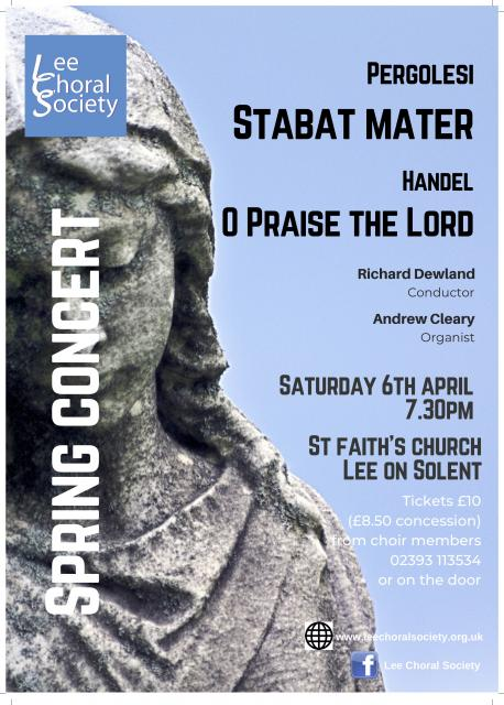 Lee Choral Society: Stabat Mater - Lee Choral Society