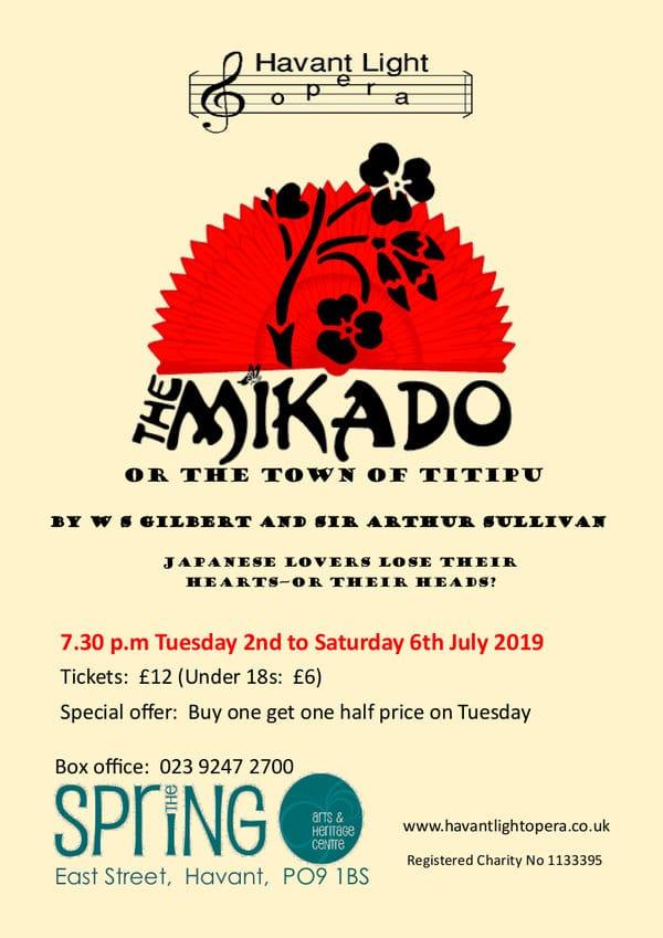 The Mikado with the Havant Light Opera - Havant Light Opera