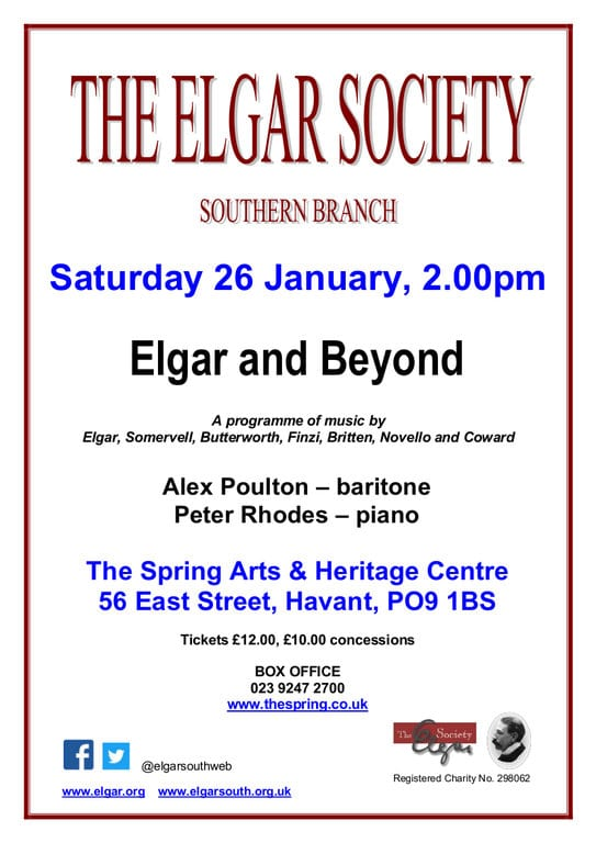 """Elgar and Beyond"" - XX Miscellaneous Performers XX"