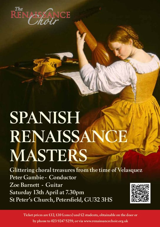 Spanish Renaissance Masters at Petersfield - The Renaissance Choir