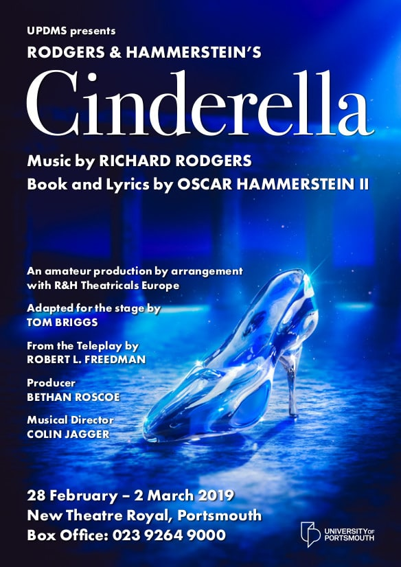 """Cinderella"" by the University of Portsmouth Dramatic and Musical Society - University of Portsmouth Choirs and Orchestras"
