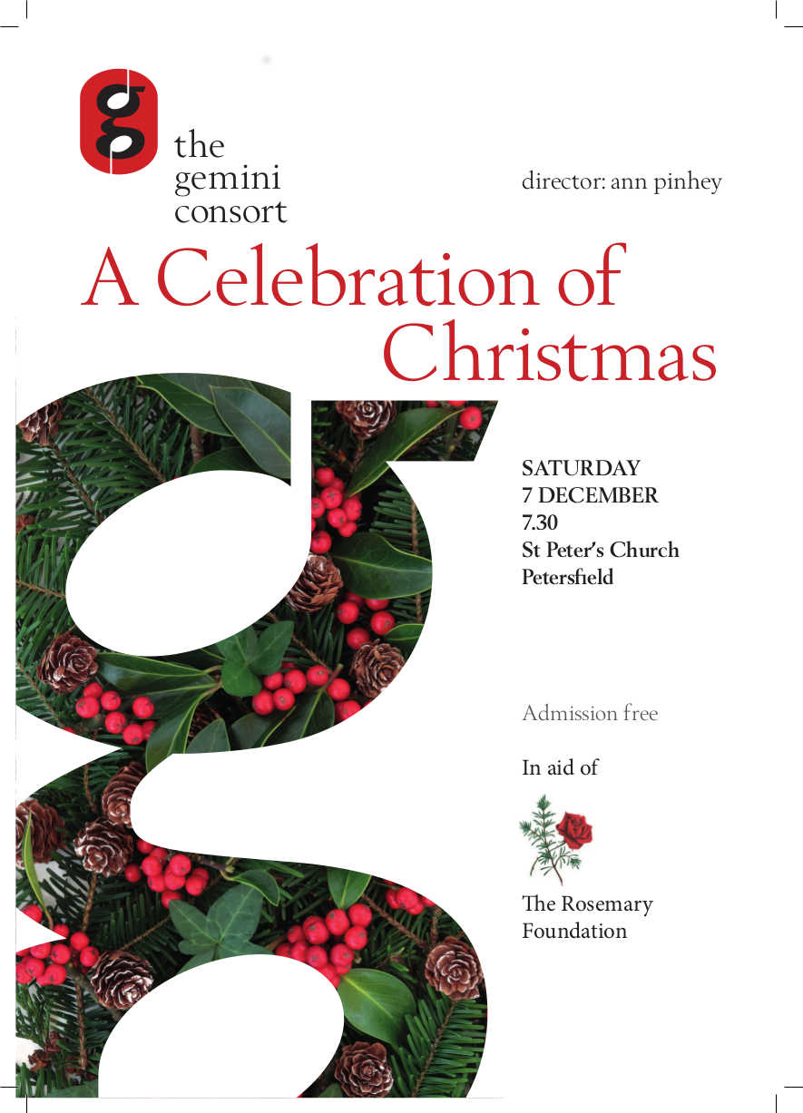 the gemini consort: A celebration of Christmas - the gemini consort