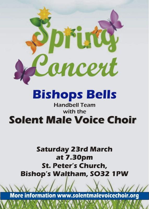 MVC Spring Concert with Bishops Bells handbell team - Solent MVC