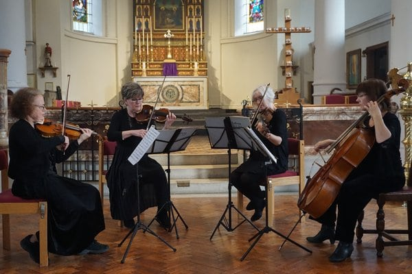 Speranza Quartet at the Havant Music Festival - Havant Music Festival