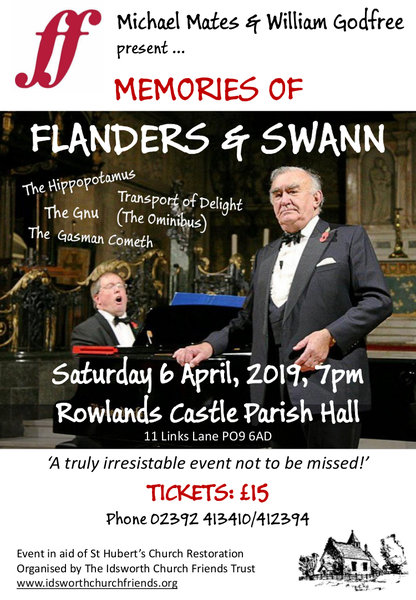 Memories of Flanders & Swann - Events at Idsworth Church