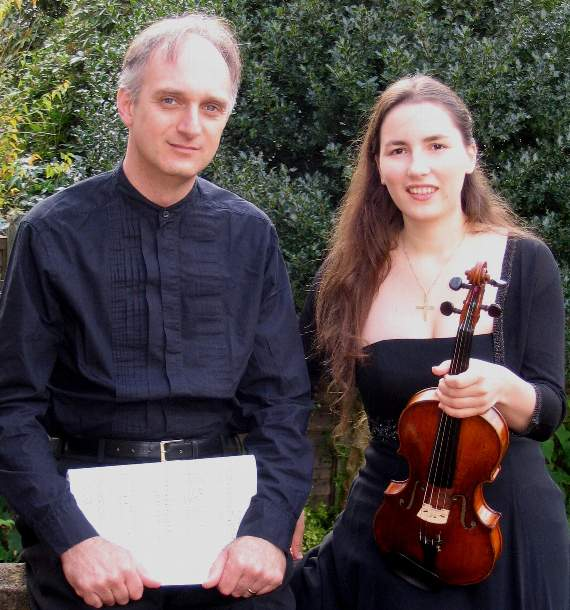 Duo Timossi Brahms recital - St Peter's Church Petersfield Music Events