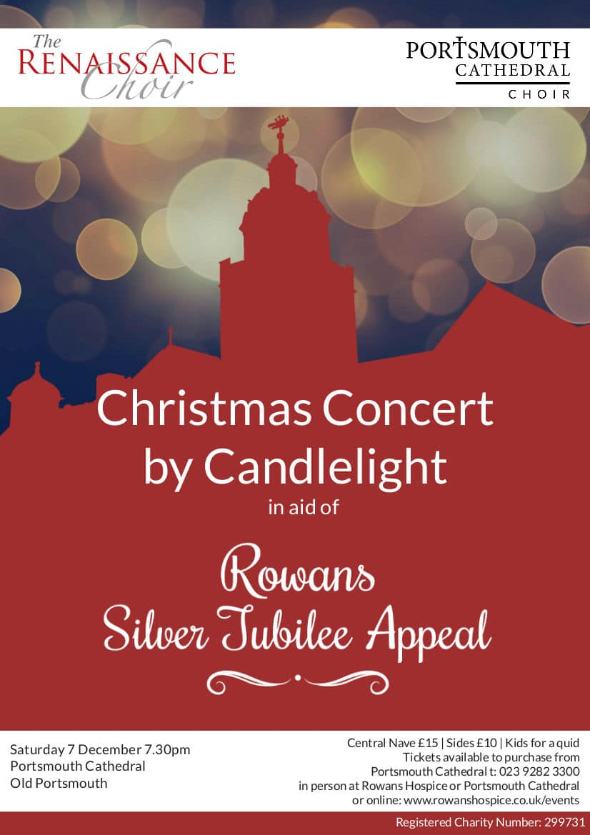 Christmas Concert by candlelight for Rowans Hospice - The Renaissance Choir