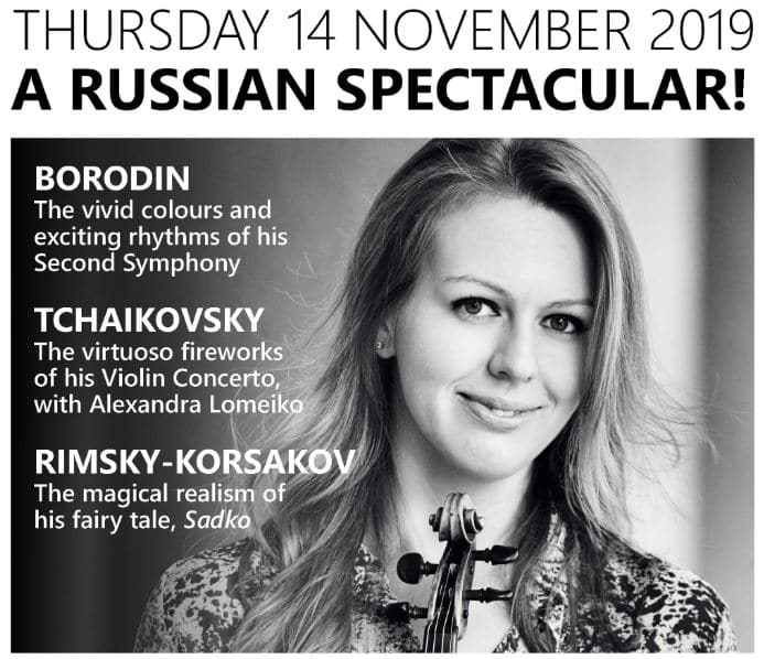 The Petersfield Orchestra plays Rimsky-Korsakov, Tchaikovsky and Borodin - Petersfield Orchestra