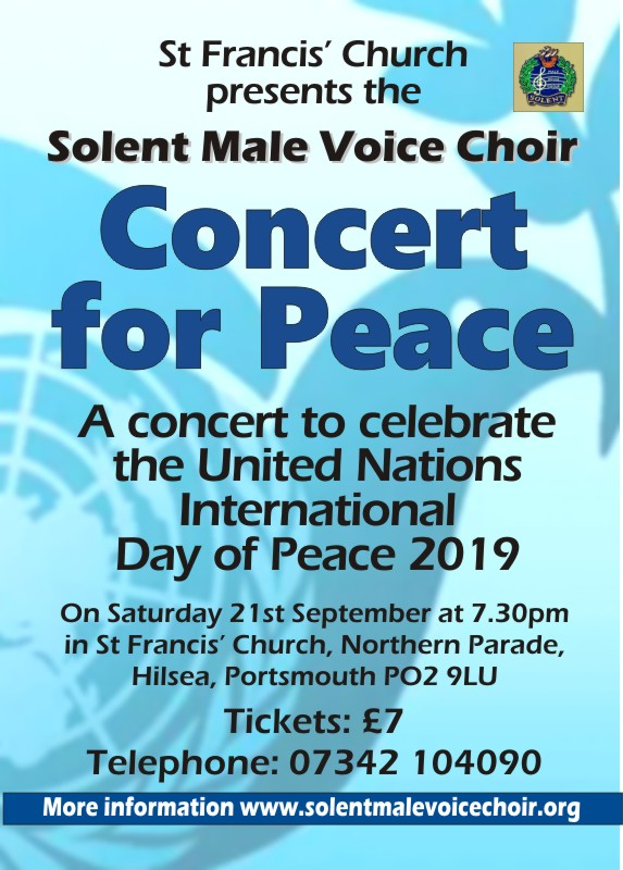 Solent Male Voice Choir: Concert for Peace - Solent MVC