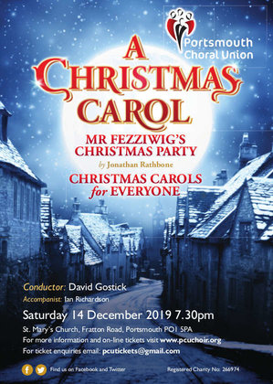 """A Christmas Carol"" with the Portsmouth Choral Union - The Portsmouth Choral Union"