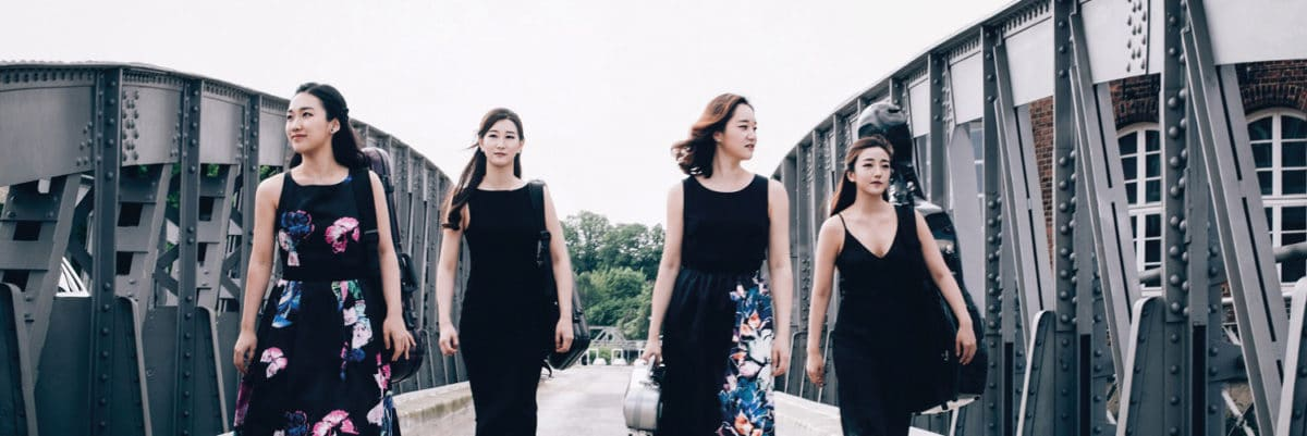 Portsmouth Chamber Music Series: Esmé Quartet - Portsmouth Chamber Music Series 2019-20